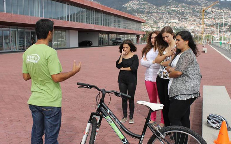 Aulas de Bicicleta para todas as isades no Funchal, Ilha da Madeira