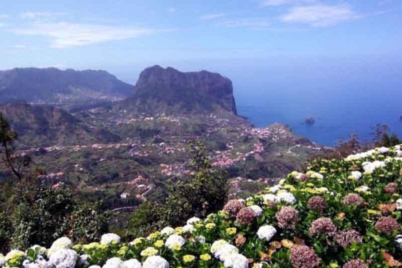 Levada da Serra do Faial - Portela de Bicicleta de Montanha