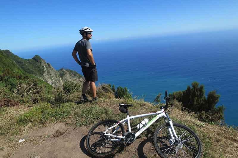 Passeio de Montanha em Bicicleta // Mountain Bike Tour Portela - Fajã dos Rolos