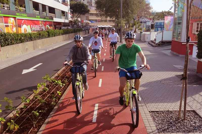 City Tours by Bike in Câmara de Lobos City